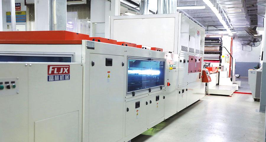 JNBL - Automated UV printing line